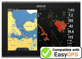 Download your B&G Vulcan 12 waypoints and tracklogs for free with EasyGPS