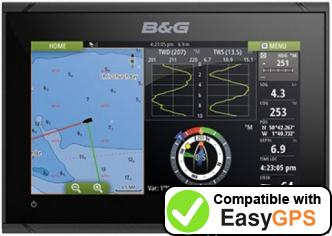 Download your B&G Vulcan 7 FS waypoints and tracklogs for free with EasyGPS