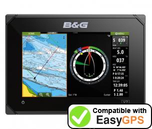 Download your B&G Vulcan 7 waypoints and tracklogs for free with EasyGPS
