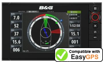 Download your B&G Zeus2 waypoints and tracklogs for free with EasyGPS