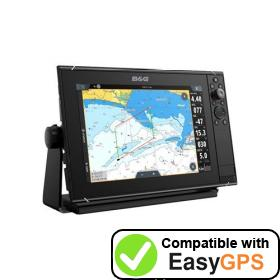 Download your B&G Zeus3S 12 waypoints and tracklogs for free with EasyGPS