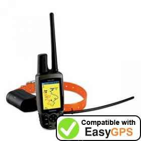 Download your Garmin Astro 220 waypoints and tracklogs for free with EasyGPS