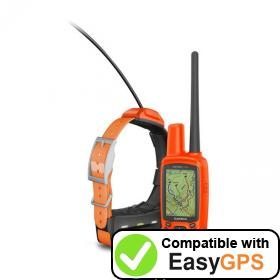 Download your Garmin Astro 430 waypoints and tracklogs for free with EasyGPS