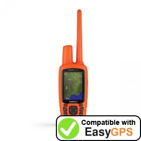 Download your Garmin Astro 900 waypoints and tracklogs for free with EasyGPS