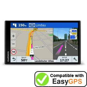 Download your Garmin Camper 770 LMT-D waypoints and tracklogs for free with EasyGPS
