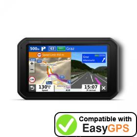 Download your Garmin Camper 785 waypoints and tracklogs for free with EasyGPS