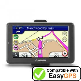 Download your Garmin dēzl 560LMT waypoints and tracklogs for free with EasyGPS