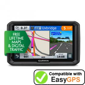 Download your Garmin dēzl 570LMT-D waypoints and tracklogs for free with EasyGPS