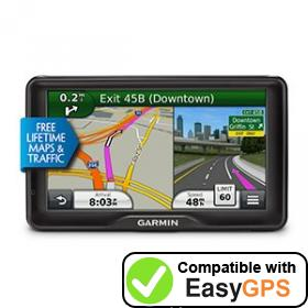 Download your Garmin dēzl 760LMT waypoints and tracklogs for free with EasyGPS