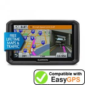 Download your Garmin dēzl 770LMTHD waypoints and tracklogs for free with EasyGPS