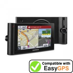 Download your Garmin dēzlCam LMTHD waypoints and tracklogs for free with EasyGPS
