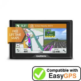 Download your Garmin Drive 51 EX waypoints and tracklogs for free with EasyGPS