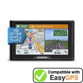 Download your Garmin Drive 51 LMT-S waypoints and tracklogs for free with EasyGPS