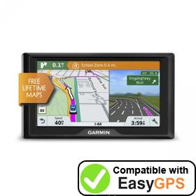 Download your Garmin Drive 61 EX waypoints and tracklogs for free with EasyGPS
