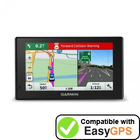 Download your Garmin DriveAssist 51 LMT-S waypoints and tracklogs for free with EasyGPS