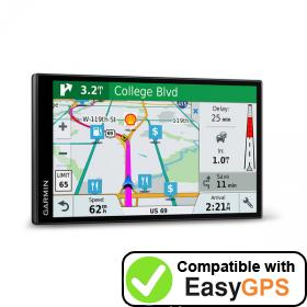 Download your Garmin DriveSmart 7 LMT-S EX waypoints and tracklogs for free with EasyGPS
