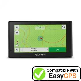 Download your Garmin DriveTrack 70LM waypoints and tracklogs for free with EasyGPS