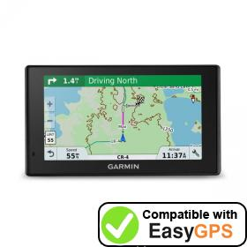 Download your Garmin DriveTrack 70LMT waypoints and tracklogs for free with EasyGPS