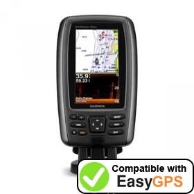 Download your Garmin echoMAP 44dv waypoints and tracklogs for free with EasyGPS
