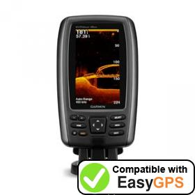 Download your Garmin echoMAP 45dv waypoints and tracklogs for free with EasyGPS