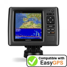 Download your Garmin echoMAP 52dv waypoints and tracklogs for free with EasyGPS