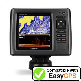 Download your Garmin echoMAP 53cv waypoints and tracklogs for free with EasyGPS