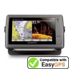 Download your Garmin echoMAP 70dv waypoints and tracklogs for free with EasyGPS