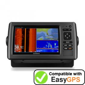 Download your Garmin echoMAP 71sv waypoints and tracklogs for free with EasyGPS