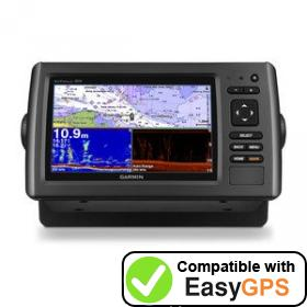 Download your Garmin echoMAP 72dv waypoints and tracklogs for free with EasyGPS