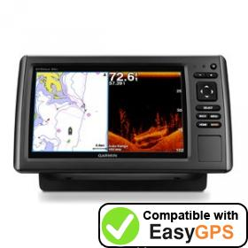 Download your Garmin echoMAP 94sv waypoints and tracklogs for free with EasyGPS