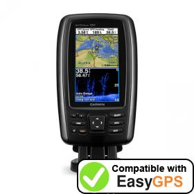 Download your Garmin echoMAP CHIRP 42dv waypoints and tracklogs for free with EasyGPS