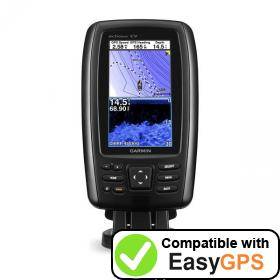 Download your Garmin echoMAP CHIRP 43cv waypoints and tracklogs for free with EasyGPS