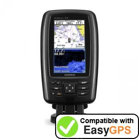 Download your Garmin echoMAP CHIRP 44cv waypoints and tracklogs for free with EasyGPS