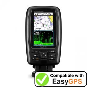 Download your Garmin echoMAP CHIRP 44dv waypoints and tracklogs for free with EasyGPS