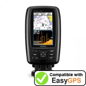 Download your Garmin echoMAP CHIRP 45cv waypoints and tracklogs for free with EasyGPS