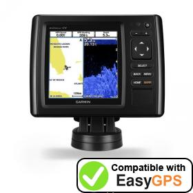 Download your Garmin echoMAP CHIRP 52cv waypoints and tracklogs for free with EasyGPS