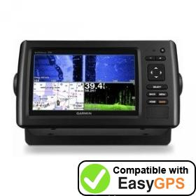 Download your Garmin echoMAP CHIRP 74sv waypoints and tracklogs for free with EasyGPS