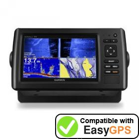 Download your Garmin echoMAP CHIRP 75sv waypoints and tracklogs for free with EasyGPS