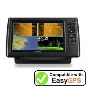 Download your Garmin echoMAP CHIRP 92sv waypoints and tracklogs for free with EasyGPS