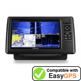 Download your Garmin echoMAP CHIRP 93sv waypoints and tracklogs for free with EasyGPS
