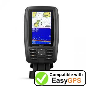 Download your Garmin ECHOMAP Plus 44cv waypoints and tracklogs for free with EasyGPS