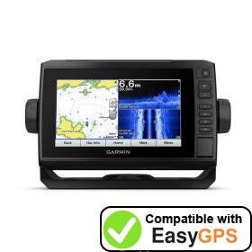 Download your Garmin ECHOMAP Plus 72sv waypoints and tracklogs for free with EasyGPS