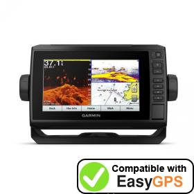 Download your Garmin ECHOMAP Plus 74cv waypoints and tracklogs for free with EasyGPS