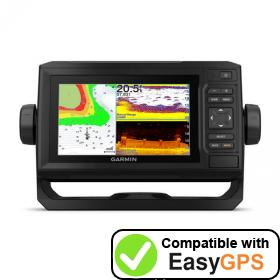 Download your Garmin ECHOMAP UHD 63cv waypoints and tracklogs for free with EasyGPS