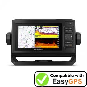 Download your Garmin ECHOMAP UHD 64cv waypoints and tracklogs for free with EasyGPS
