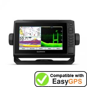 Download your Garmin ECHOMAP UHD 74cv waypoints and tracklogs for free with EasyGPS