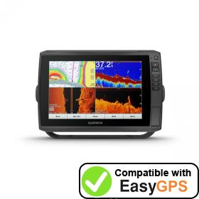 Download your Garmin ECHOMAP Ultra 106sv waypoints and tracklogs for free with EasyGPS
