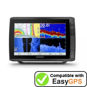 Download your Garmin ECHOMAP Ultra 126sv waypoints and tracklogs for free with EasyGPS