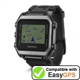 Download your Garmin epix waypoints and tracklogs for free with EasyGPS