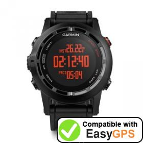 Download your Garmin fēnix 2 waypoints and tracklogs for free with EasyGPS